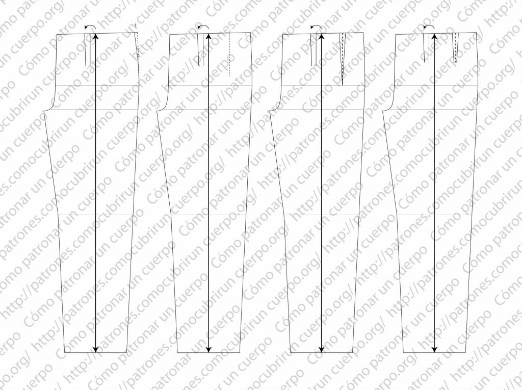pantalón clásico de dos pliegues cerrados al derecho 03