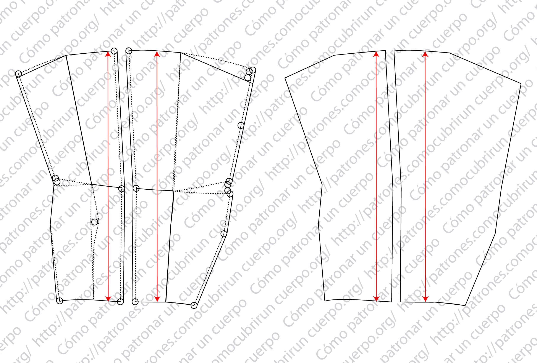 Patrón de las polainas ModPO2014-001-140124 | Cómo cubrir un cuerpo